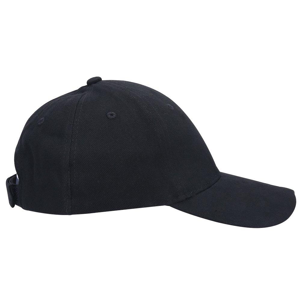 Dioche Angeln LED Hut Leichte Hohe Helligkeit LED Baumwolle Baseball Hut H/ände Frei Scheinwerfer Cap f/ür Nachtfischen Camping Jogging