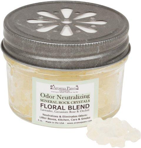 Aroma Paws odore neutralizzante, cristallo di rocca, 113,4 gram, floreale