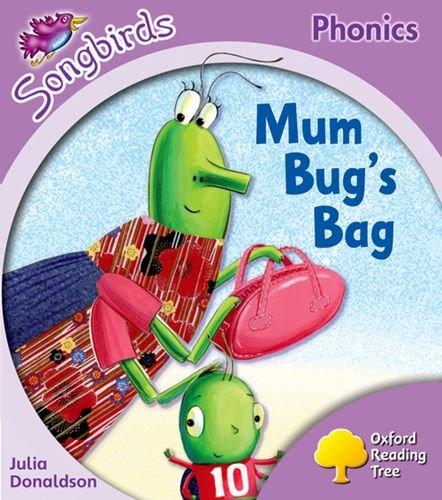 Read Online Oxford Reading Tree: Stage 1+: Songbirds: Mum Bug's Bag ebook