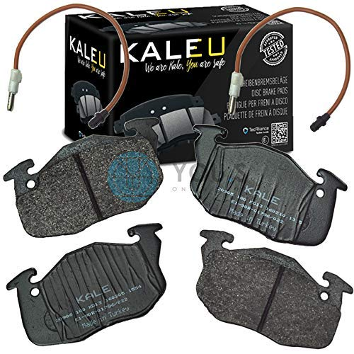 Kale 1611457980 Front Axle Set of Brake Pads Brake Pads: