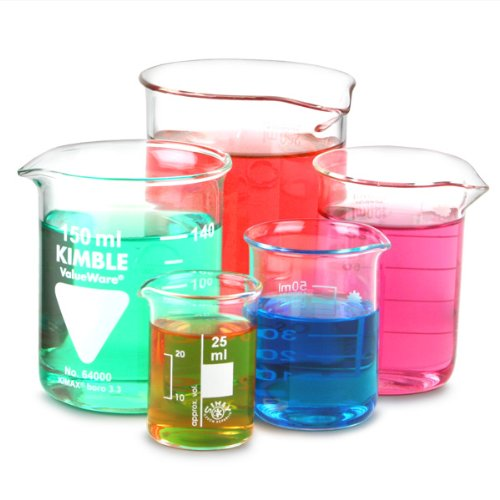 Glass Measuring Beaker Set | Low Form Beakers, Measuring Cups, Borosiliate Beakers Drinkstuff