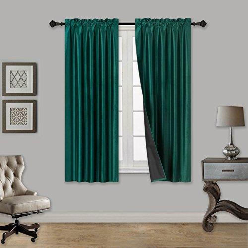Elegant Home 2 Panels Tiers Small Window Treatment Curtain F