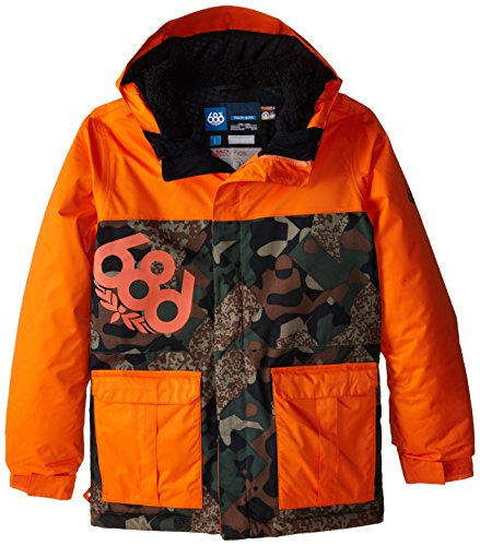 Boy's Elevate Insulated Jacket, Small, Army Cubist Camo