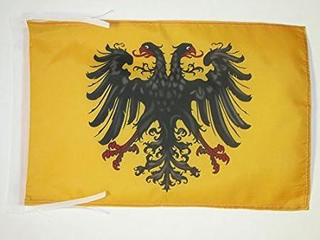 AZ FLAG Bandera del Sacro Imperio Romano GERMÁNICO 962-1806 45x30cm - BANDERINA Primer Reich 30 x 45 cm cordeles: Amazon.es: Hogar