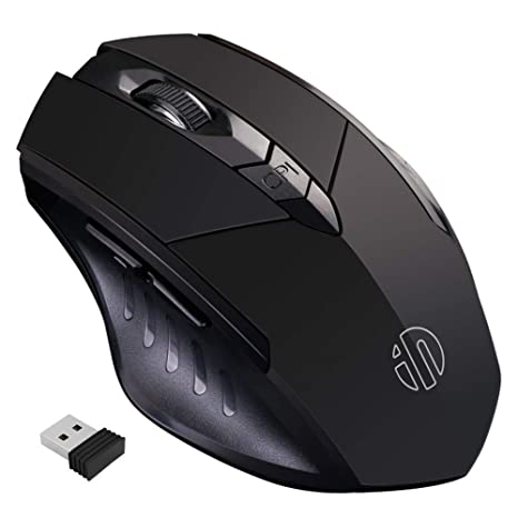 Amazon.com: inphic mouse inalámbrico recargable ...