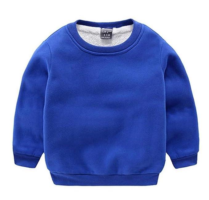 72c5d27b4 Amazon.com  CuteOn Baby Boy s Girl s Crewneck Cotton Long Sleeve ...