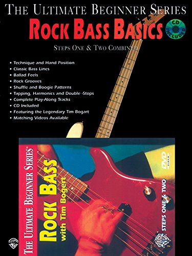 (The Ultimate Beginner Mega Pak: Rock Bass Basics Mega Pak: Steps One & Two Combined (The Ultimate Beginner Series))