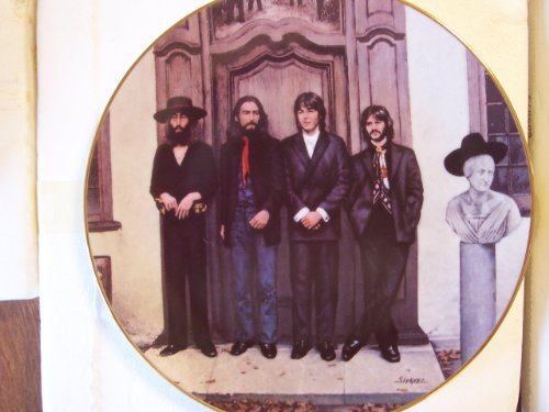 THE BEATLES Hey Jude BRADFORD EXCHANGE Delphi PLATE ()