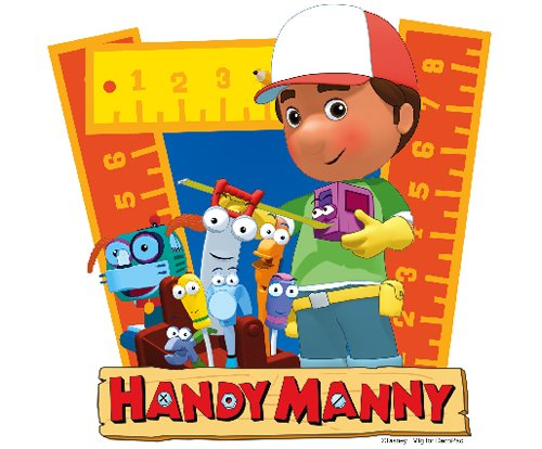 Handy Manny Edible Cupcake Toppers Decoration
