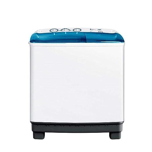 Lavadora 10 kg de Alta Capacidad Doble Doble Barril Semi ...