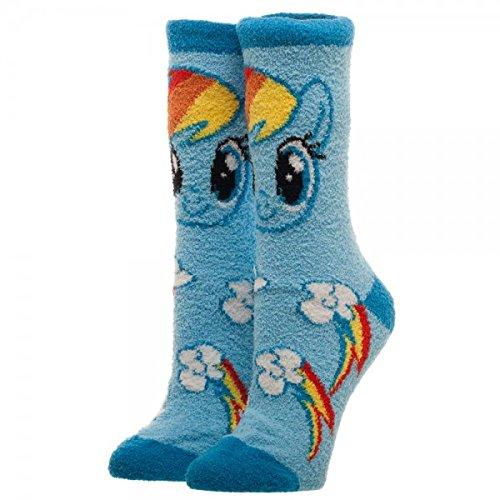 f6fcd1338a5 Amazon.com  My Little Pony Fuzzy Socks Standard  Clothing