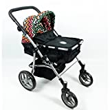 2-1 Babyboo Doll Stroller for Girls Ages 2+ with FREE Carriage Bag- Doll Stroller for Toddlers and Girls - Adjustable Handle and Folds for Storage. View All Pictures -Best Doll Stroller Gift for Girls