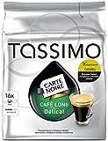 TASSIMO Carte Noire Café Long Délicat 16 Disc - Lot de 3 (48 Disc)