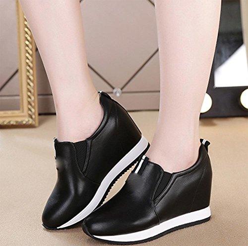 sport Mme Spring de chaussures dames célibataires chaussures chaussures dentelle chaussures pente avec femmes les d'ascenseur UCvdrHqxwU