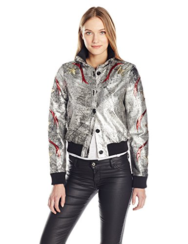Just-Cavalli-Womens-Printed-Bomber