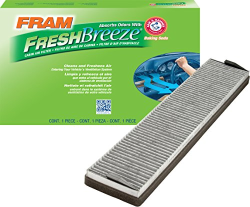 FRAM CF8046A Fresh Breeze Cabin Air Filter with Arm & Hammer