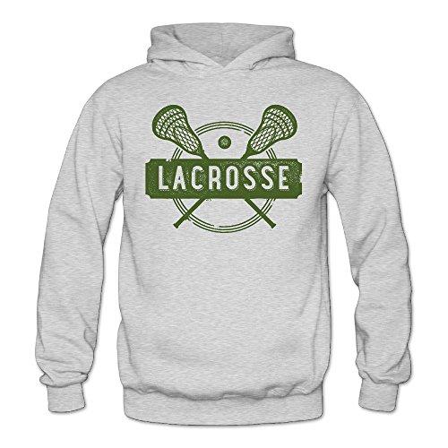 MARC Women's Lacrosse Sports Sweatshirt Ash Size - A Class Ray Ban