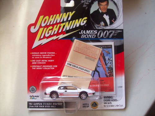 Lotus Esprit Turbo (Johnny Lightning James Bond For Your Eyes Only 1981 Lotus Turbo Esprit)