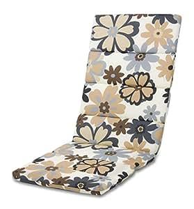 Dajar 50426 - Sillas y sillones de la almohadilla de madera altos, multicolor