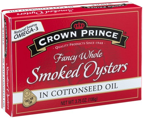 Crown Prince Oysters Cottonseed 3 75 Ounce product image