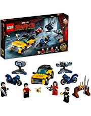 LEGO® Marvel Shang-Chi Escape from The Ten Rings 76176 Collectible LEGO Marvel Playset with Shang-Chi, Katy, Wenwu and Razor Fist Minifigures (321 Pieces)