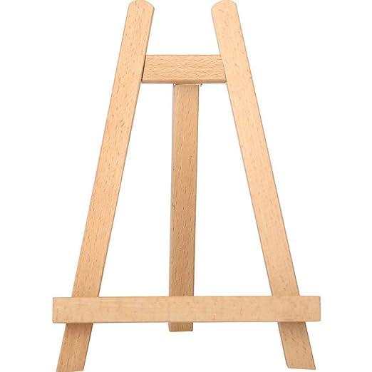 Fablcrew - Mini caballete de mesa con caballete de madera de haya ...