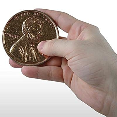 Giant Novelty Penny Fake Jumbo Coin by Loftus International: Toys & Games