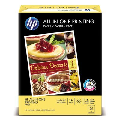 All-In-One Printing Paper, 97 Bright, 22lb, Letter, White, 500 Sheets/Ream, Sold as 1 Ream, 500 per Ream