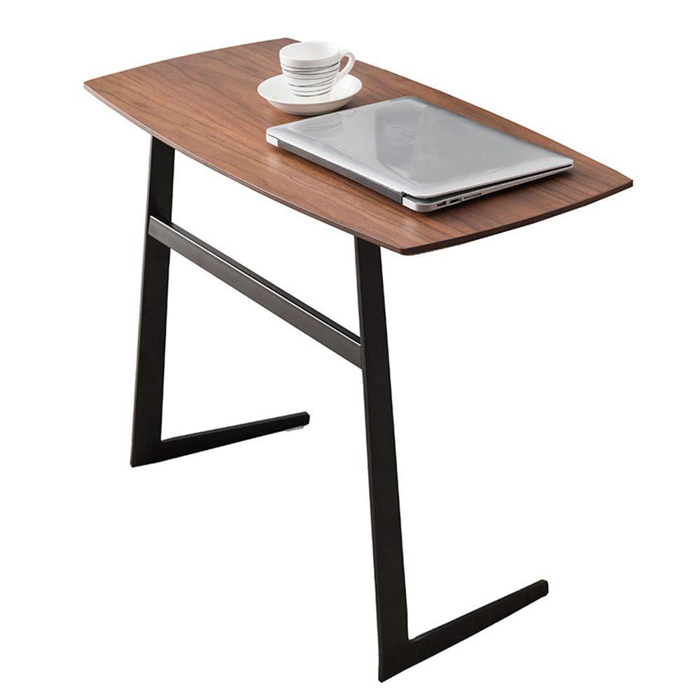 FEIFEI サイドテーブルリビングルームエンドテーブルコーヒーテーブルラップトップスタンドベッドサイドソファーソファー看護テーブル80(L)* 38(W)* 59(H)cm   B07K21JTZ6