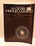 Algebra Programmed, Alwin, Robert H. and Hackworth, Robert D., 0130219401