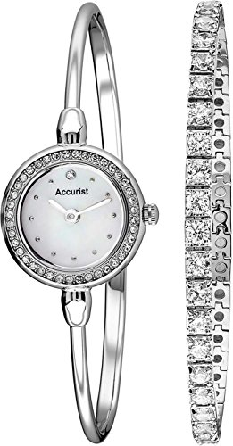 Accurist Ladies Bracelet Gift Set Watch LB1573