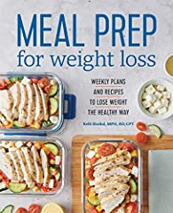 Cook today. Eat for a week. Lose weight for the long term.              Losing weight can be as easy as cooking one day per week. Meal Prep for Weight Loss equips you with the knowledge to properly prepare balanced meals ahead...