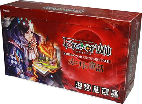 Force of Will - Grimm Cluster Set 1 - Crimson Moon's Fairy Tale Booster Box ()