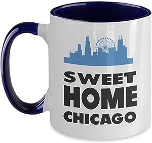 Mug-Sweet Home Chicago Mug, 11oz Funny Coffee Mug