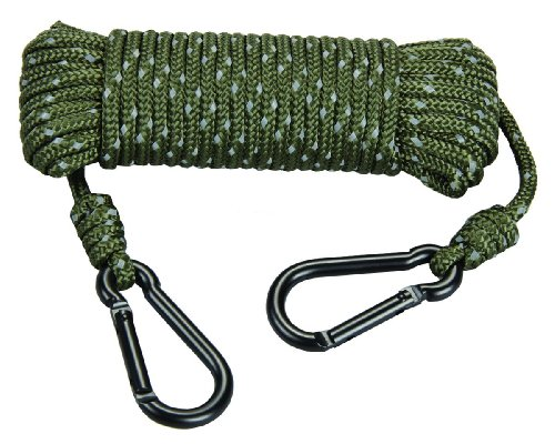 (Hunters Specialties Reflective Treestand Rope 30ft Heavy Duty)