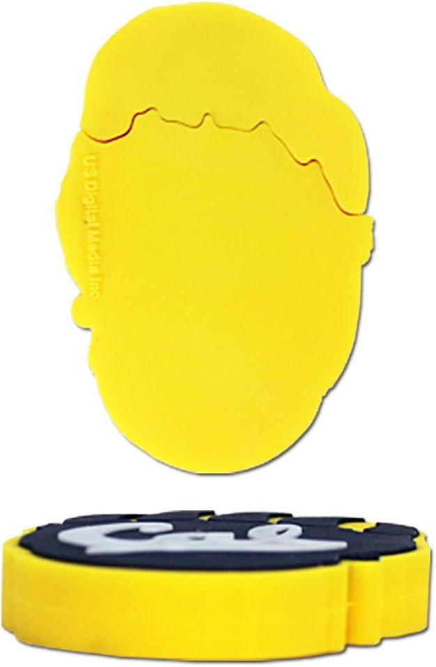 Flashscot NCAA Cal Berkeley Bear Paw Logo Shape USB Drive