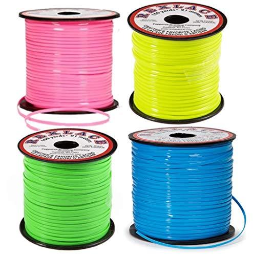 Neon Rexlace Plastic Lanyard - Set of 4 -