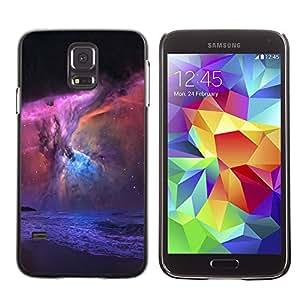 Descenso de las fuerzas del mal - Metal de aluminio y de plástico duro Caja del teléfono - Negro - Samsung Galaxy S5