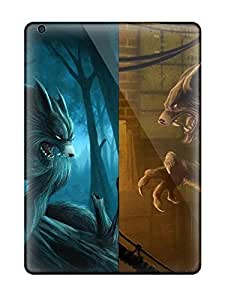 Air Scratch-proof Protection Case Cover For Ipad/ Hot Werewolf Phone Case