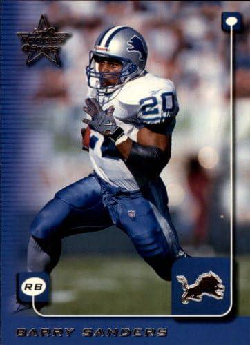 1999 Leaf Rookies and Stars Football Rookie Card #71 Barry Sanders