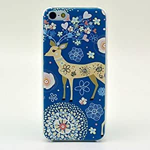 TY-Modelo lindo de los ciervos Caso duro para el iPhone 5/5S