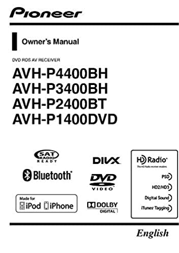 Pioneer P1400dvd Wiring Diagram: Pioneer AVH-P1400DVD AV Receiver Owners Instruction Manual Reprint rh:amazon.com,Design