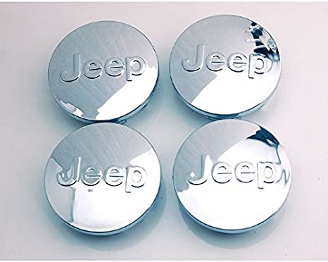 4pcs W066 65mm Car Styling Accessories Emblem Badge Sticker Wheel Hub Caps Centre Cover JEEP Cherokee Patriot Wrangler Compass