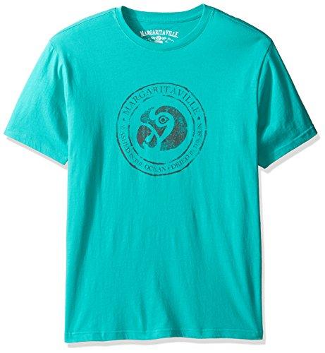 Margaritaville Men's s Icon T-Shirt, Atlantis Green, XL