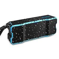 Reserwa Bluetooth Speakers IPX6 Waterproof Dustproof Shockproof Superior 3D Stereo Speakers with Dual-Driver and Built-in Mic Wireless Speakers 33-Foot Bluetooth Range Portable Speaker from Reserwa
