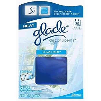 Amazon Com Glade D 233 Cor Scents Refill Clean Linen 0 56