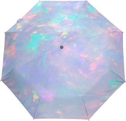 Automatic Open/&Close Folding Compact Super Windproof Anti Rain Sun Umbrella