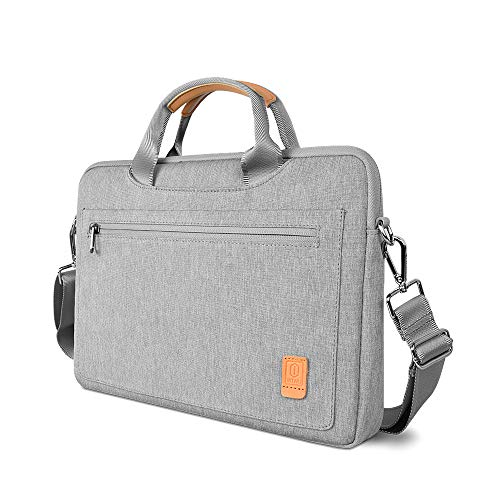 Laptop Bag 15-15.4 Inch with Shoulder Strap and Handle,Compatible with 15 inch MacBook Pro ASUS Acer Lenovo Dell Chromebook/HP Notebook for Men & Women (15-15.4inch, Grey)
