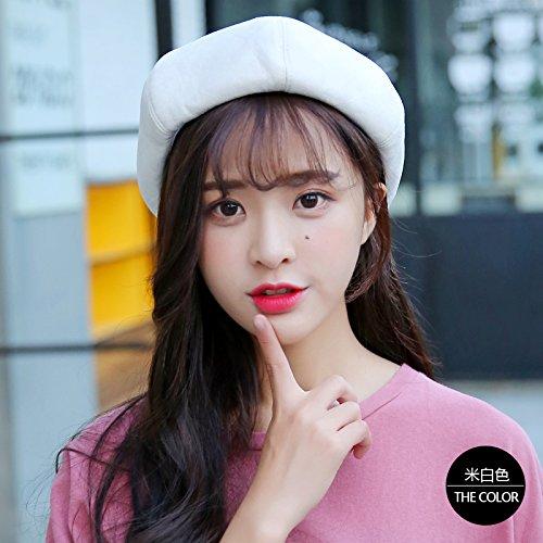 Female Leisure All-Match Korean Fashion Color Painter Hat