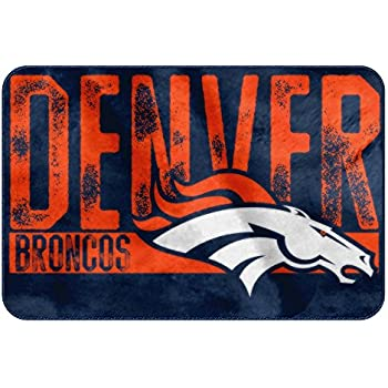 The Northwest Company NFL Denver Broncos Embossed Memory Foam Rug, One Size, Multicolor